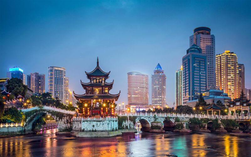 best cities for doing business in China