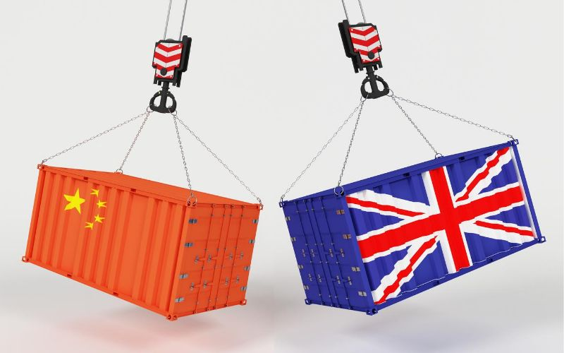 importing goods from China to UK